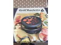Electric grill raclette