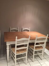 House of Fraser Shabby Chic tables & chairs