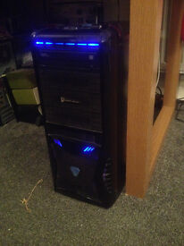 gaming pc with windows 7 instaled see below amd a10 with 16gb ram 1ter hard drive