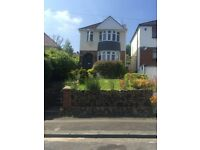 3 bedroom modern detached property with front and rear garden