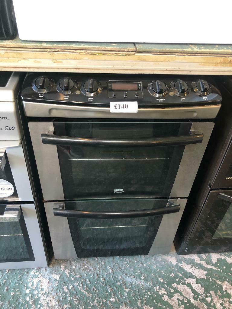 Silver zanussi top oven grill electric cooker- call 01902863838  a1f1924130550