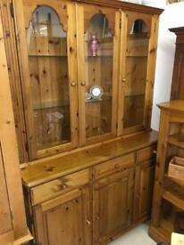 Ducal solid pine 2 piece dresser