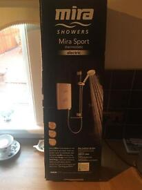 MIRA SPORT 9KW THERMOSTATIC ELECTRIC SHOWER BRAND NEW RRP £300..
