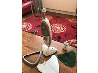 Vax steam mop floor cleaner with pads