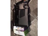 Xbox 360, kinnect, 7 games, boxed