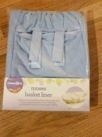 Moses Basket Fleece Liner (BabiesRUs)