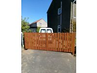 Fencing, Gates, Decking and shed bases. High Quality and Strong at Sensible Prices