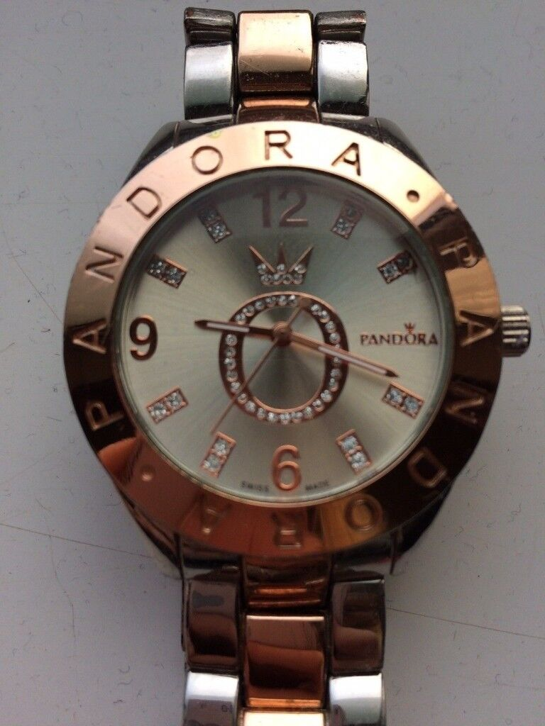 ea97d5851 ROSE GOLD AND STAINLESS GENUINE PANDORA WATCH | in ...