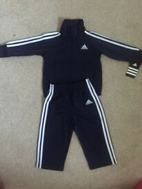 Baby boys Adidas tracksuit 12 months WITH TAGS