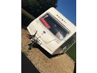 2006 Bailey series 5 4 berth end bathroom mint condition