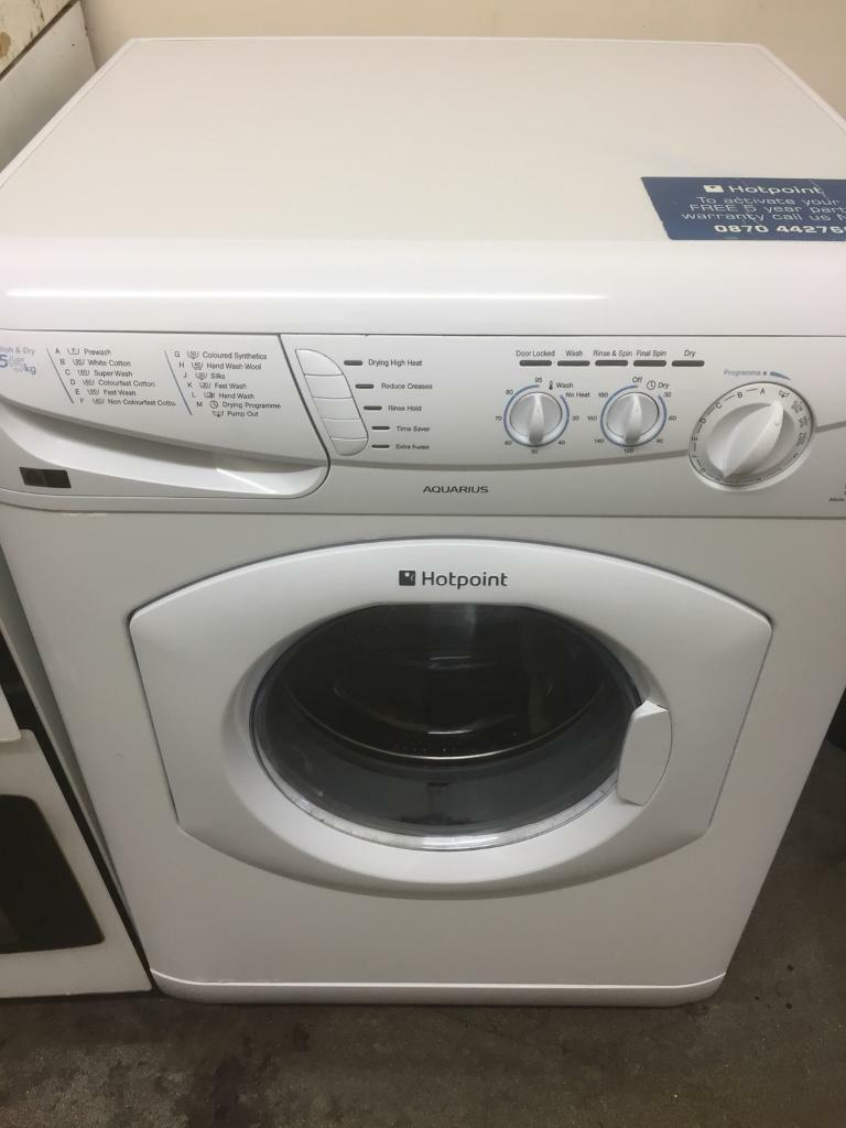 ✅Hotpoint washer dryer can deliver