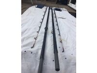 ABU Conolons 13ft 4 to 8 oz Beach casters pair