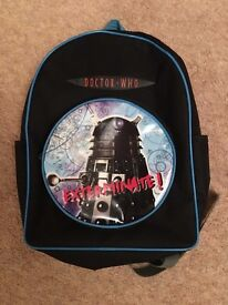 Doctor Who rucksack