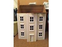 New Dolls House - Cream 3 Storey Townhouse