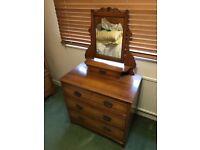 Pine dresser antique