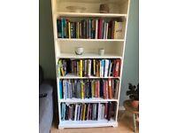 White ikea bookcase great condition