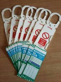 Scafftags tag holders and inserts