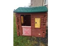 Little tikes log cabinSOLD