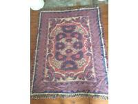 Handmade Indian rug