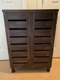 FREE DELIVERY SHOE CABINET