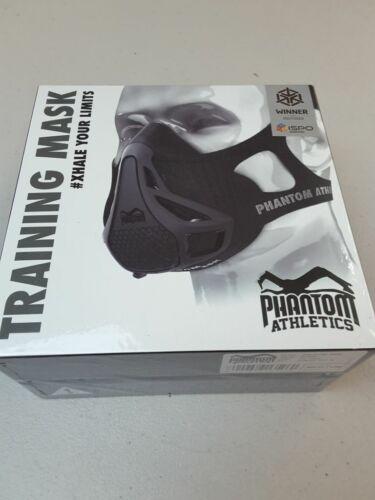 Athletics Training Mask, Size Medium, Black - Phantom