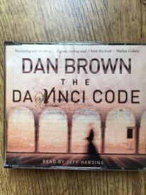 Dan Brown - The Da Vinci Code - Read By Jeff Harding CD Audiobook
