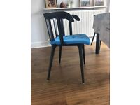 4 Lovely IKEA PS 2012, Black Chairs in Perfect Condition for Sale