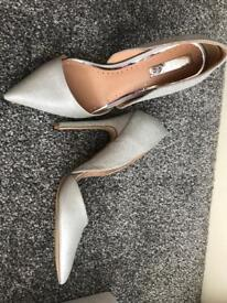 Wedding shoes new size 6 Miss KG