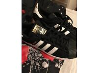Adidas superstars brand new size 8