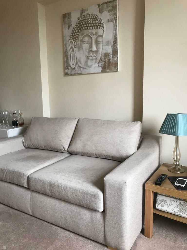 Sprung mattress sofa bed for daily use   in Chiswick ...