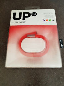 Jawbone UP 24 with Motion X Large Size