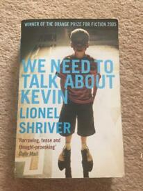 Book: we need to talk about Kevin, Lionel Shriver