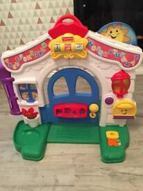 Fisher price laugh and learn door