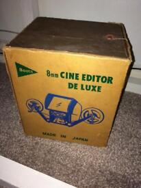 classic Boots cine film editor Deluxe