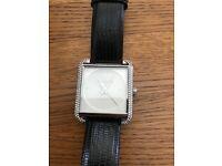 Genuine black strap Michael Kors watch
