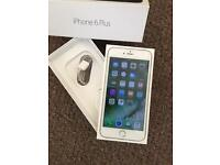 Apple iPhone 6 Plus 128gb Vodafone silver boxed
