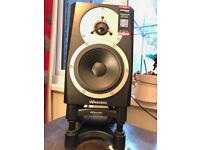 Dynaudio BM Compact Mk3 with IsoAcoustic Stands and Volume Remote