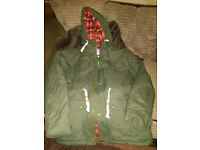 Lee cooper brand new winter jacket with labels green