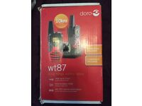 Doro long range walkie talkie R.R.P £41.99