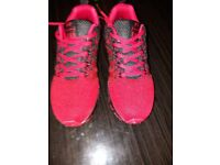 Women red trainers size uk 6- £ 25