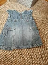 Girls next denim dress