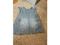 Girls next denim dress