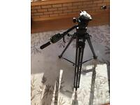 Manfrotto Tripod with lanc control