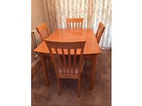 Need a table and chairs for Christmas? FREE to collector