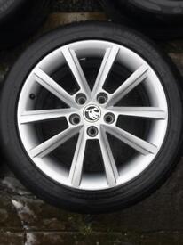 "Skoda Octavia Alloy wheel Star Teron 7.0J x 17"""