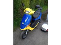 Peugeot zenith 50cc 49cc scooter learner legal moped Rev and go