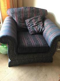 2 armchairs