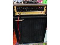 Marshall DBS 7400 Bass Amp Head and Ashdown Mag 410T 4x10 Bass Cab