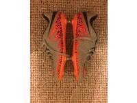 Nike Hypervenom Phinish SG Pro - Orange/Grey