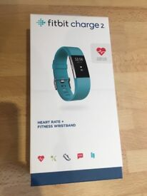 Fitbit Charge 2 with heart rate monitor
